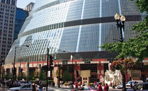 The James R. Thompson Center located at 100 W. Randolph Street in the Loop, Chicago. - PHOTO BY PRIMEROMUNDO VIA WIKIPEDIA.ORG