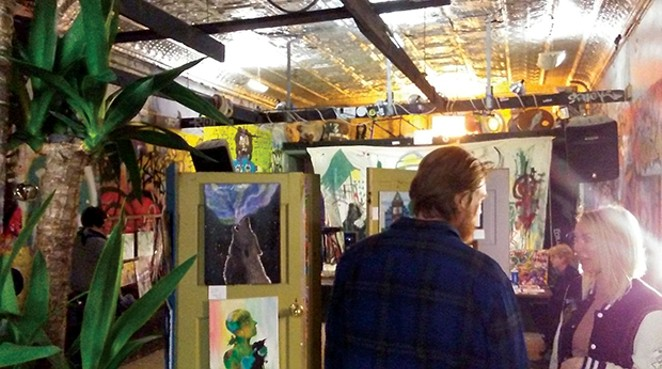 Art and community came together at the Black Sheep Annual Art Show this past Saturday. - PHOTO COURTESY CLARE FRACHEY