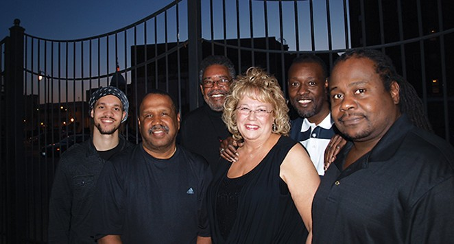 Lady Carole & Her Knights celebrate Carole's birthday and the ninth anniversary of the band from 3 to 6 on Sunday afternoon at Brookhills Golf Club.
