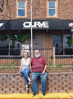 Curve Inn co-owners Ami Merchant and Donald Thompson