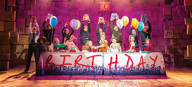 The Hoogland Center for the Arts' production, Matilda the Musical (June 28-30, July 5-7).