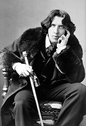 Oscar Wilde in 1882, the year he appeared in Springfield. - PHOTO BY NAPOLEON SARONY
