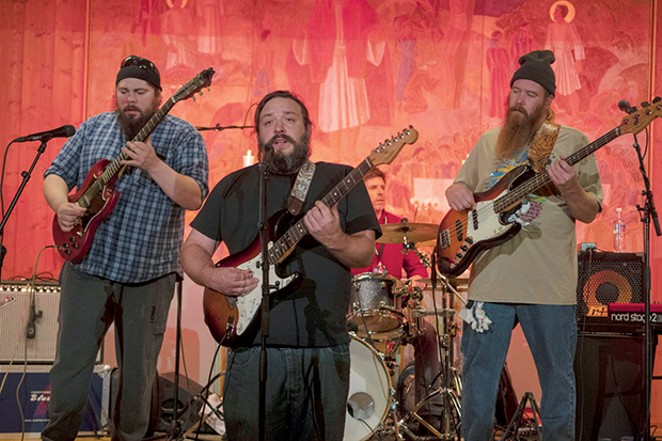 Kilborn Alley Blues Band plays Danenberger's Wine Rocks stage on Fri, May 31.