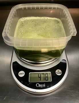 My Weigh KD-8000 digital kitchen scale - PHOTO BY PETER GLATZ
