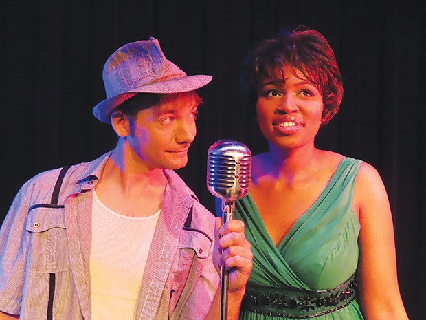 Casey Cantrall as Huey and Jasmine French as Felicia. - PHOTO BY GUS GORDON