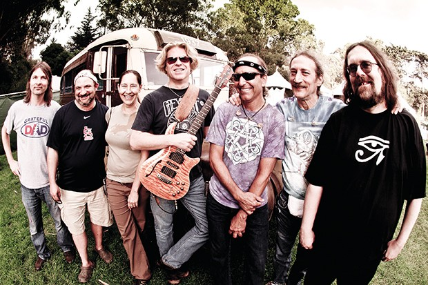 Dark Star Orchestra plays at Castle Theater in Bloomington on Oct. 2. - PHOTO BY BOB MINKIN