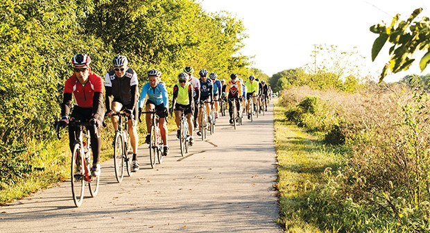 The Springfield Bike Club hosts the annual Capital City Century ride, scheduled for Sept. 8 this year. - PHOTO COURTESY SPRINGFIELD BICYCLE CLUB