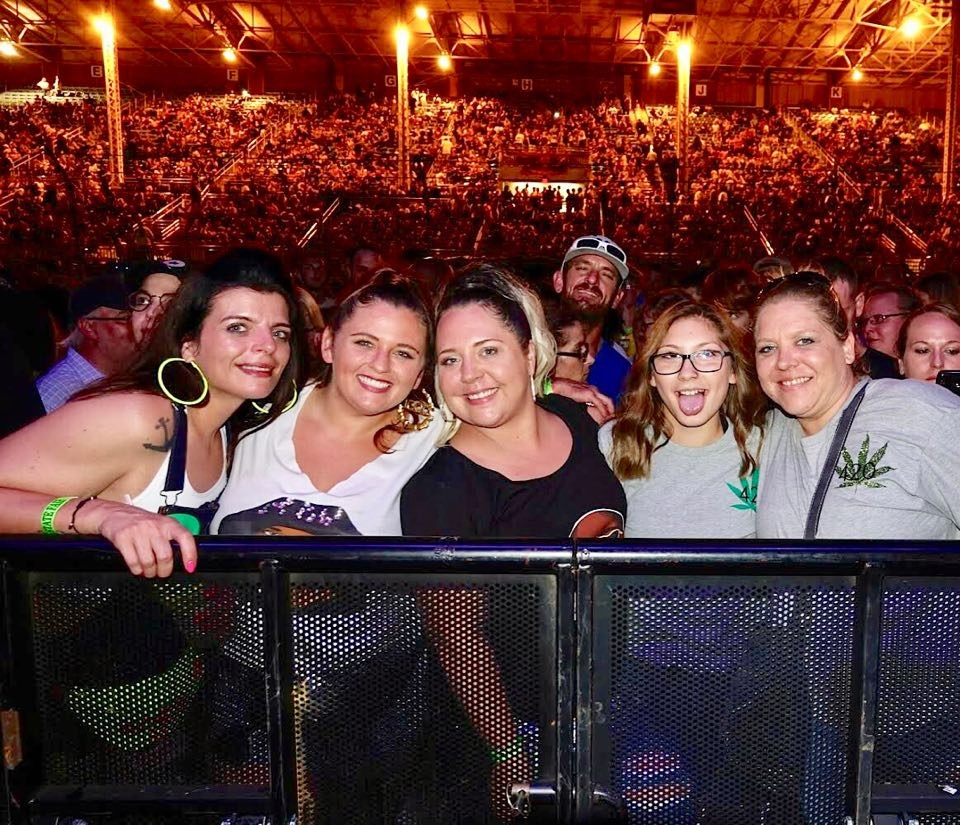Fans waiting for Snoop to take the stage - BRIAN BOWLES