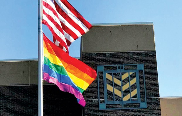 "Lincoln Prairie flies the pride flag as a ""symbol of acceptance and inclusion."""