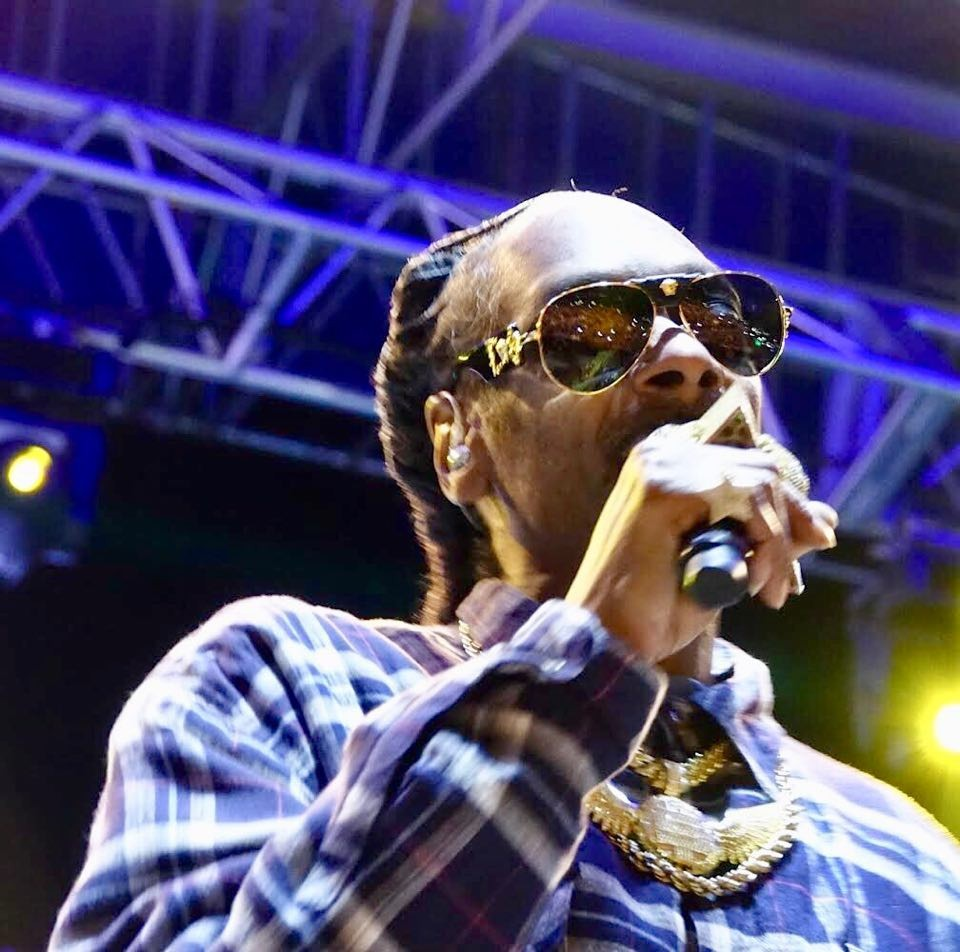 Snoop Dogg performs at the Illinois State Fair Grandstand - BRIAN BOWLES