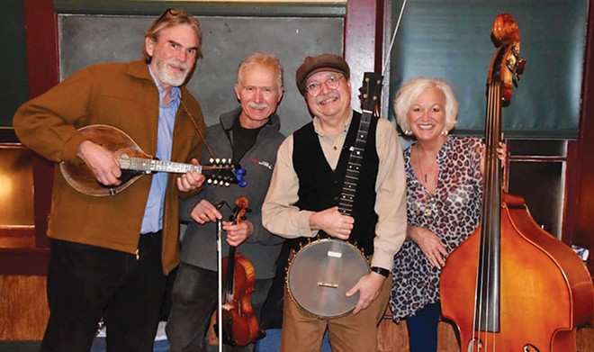 The Burr Oak String Band plays this Thursday, Jan. 9, at 7 p.m. for the Music at the Museum concert series held in the Illinois State Museum.