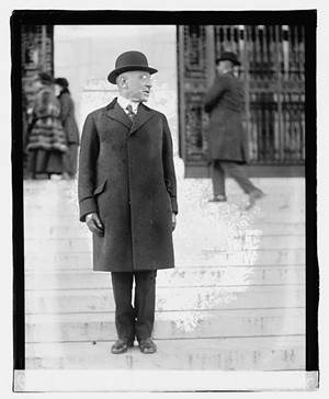 Julius Rosenwald, president of Sears, Roebuck, Dec. 1, 1919. - PHOTO COURTESY LIBRARY OF CONGRESS