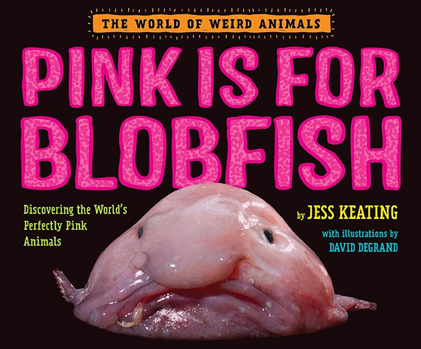 Pink is for Blobfish: Discovering the World's Perfectly Pink Animals by Jess Keating.