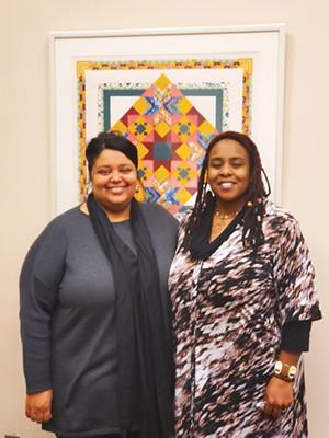 Vanessa Knox (left) and Shatriya Smith - PHOTOS BY RACHEL OTWELL