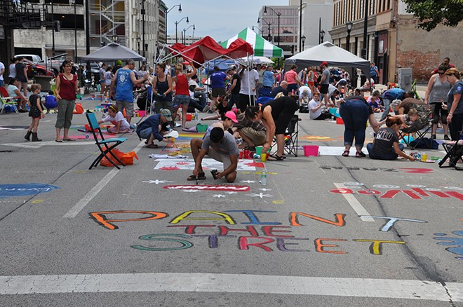 Paint the Street Festival, June 20, downtown - COURTESY SPRINGFIELD BALLET COMPANY