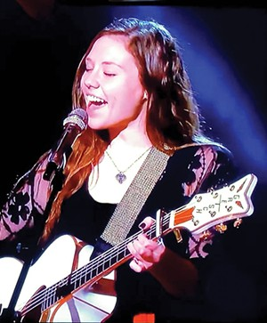 """Fresh from her recent appearance on ABC's """"American Idol"""" (she made it to number 68 out of the original 15,000), Avery Kern streams Lockdown Live on Facebook, this Friday, 7 to 8 p.m."""