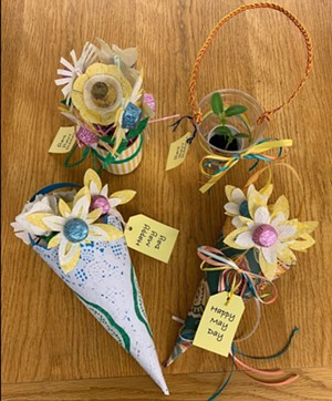 """Examples of """"May Day"""" baskets. - SPRINGFIELD ART ASSOCIATION"""