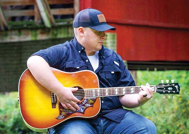 Kyle Olsen plays outside at the Boar's Nest near Athens, 2 to 5 p.m. this Sunday.