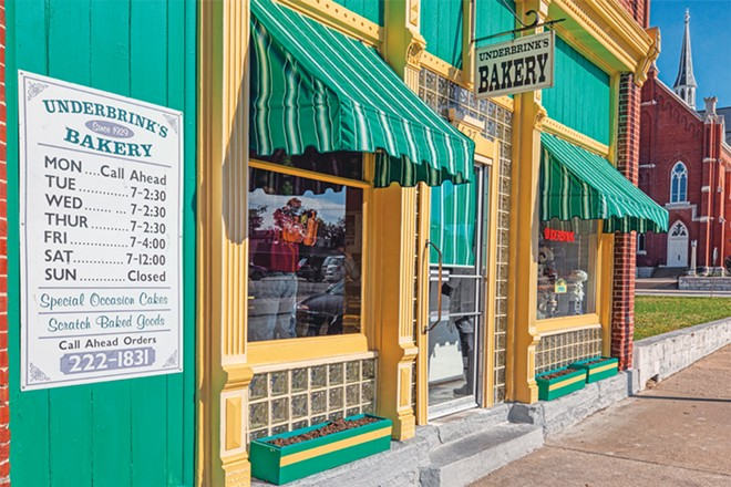 Sweet-tooth lovers flock to Underbrink's Bakery in Quincy, named Illinois' top bakery in 2019 by Taste of Home. - PHOTO BY RANDY VON LISKI.