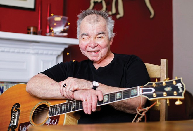 The late John Prine, singer-songwriter and Honorary Poet Laureate of Illinois.