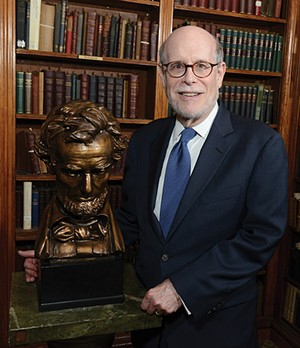 "Harold Holzer, renowned Lincoln scholar, advises ALPLM: ""A commitment to transparency is crucial."" - PHOTO COURTESY OF HAROLD HOLZER"