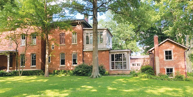 The Leland Home, as it looks today. The historic house has a new owner.