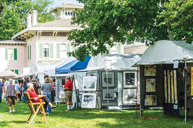 Edwards Place Fine Art Fair is Sept. 19 and 20. - PHOTO COURTESY SPRINGFIELD ART ASSOCIATION