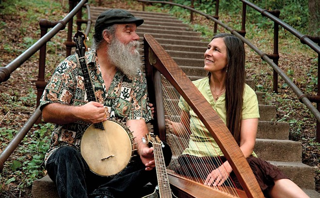 Curtis and Loretta play the first virtual Hickory Ridge Concert this Saturday at 7 p.m. - PHOTO BY JENNIFER BONG