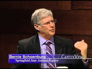 Bernard Schoenburg, longtime political writer, is leaving the State Journal-Register. - IMAGE COURTESY OF WSEC