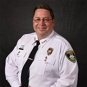 Police chief Kenny Winslow