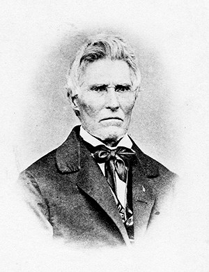 Elijah Iles was one of Springfield's earliest settlers. - PHOTO COURTESY ABRAHAM LINCOLN PRESIDENTIAL LIBRARY AND MUSEUM