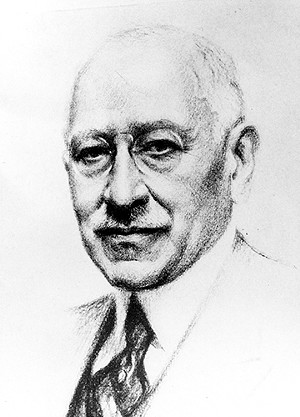 Julius Rosenwald born in Springfield, was president of Sears and a major philanthropist. - PHOTO COURTESY ABRAHAM LINCOLN PRESIDENTIAL LIBRARY AND MUSEUM