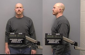 Graves was arrested and booked after a Sunday incident. - SANGAMON COUNTY SHERIFF