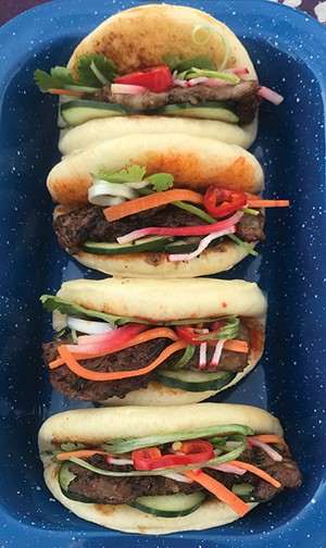 Steamed buns - PHOTO BY ANN SHAFFER GLATZ
