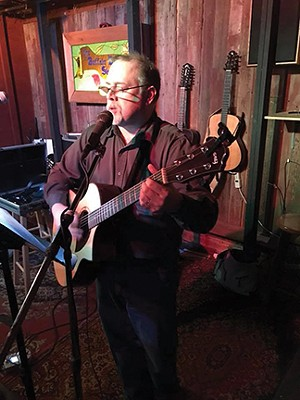 Chris Hawkins plays this Friday (6-9pm) in the Farmhouse Restaurant at Harvest Market.