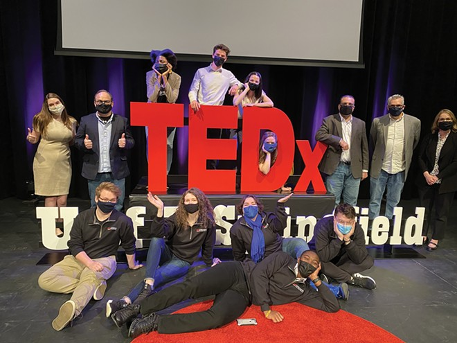 The TEDx event at UIS was a collaborative effort between students, faculty, staff and community members. - CREDIT: EMMANUELLE MOSSI YAKANA / UIS