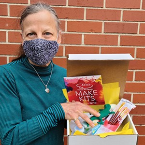 The Springfield Art Association created Make Kits, ready-to-go art projects in a box, for adults and children to use at home during the pandemic. - PHOTO COURTESY SAA