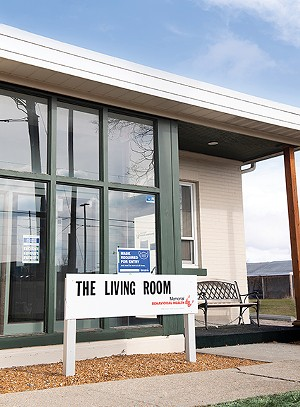 Memorial's Living Room is at 710 N. Eighth St. and operates from noon to 8 p.m. on weekdays. - CREDIT: MEMORIAL BEHAVIORAL HEALTH