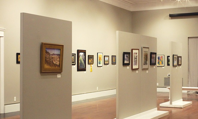 Illinois Prairie Pastel Society show  at the SAA Collective gallery - PHOTO COURTESY SPRINGFIELD ART ASSOCIATION