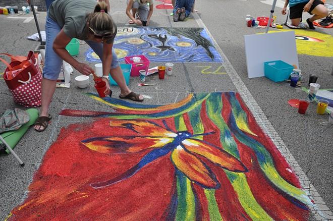 Springfield Art Association's Paint the Street Festival, June 26