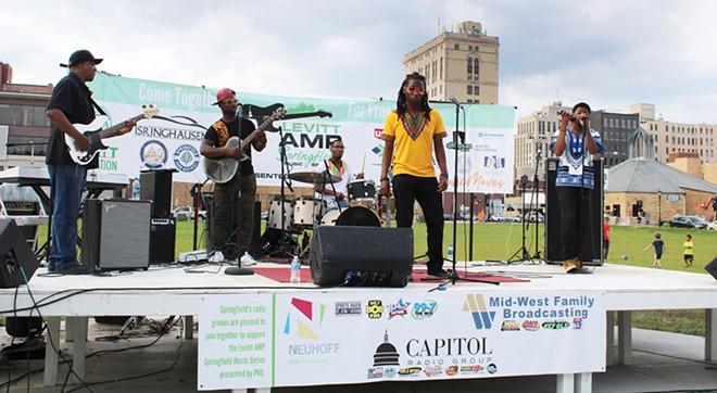 Levitt AMP Springfield Music Series, Thursday June 3-July 29 - PHOTO BY CAROL WEEMS