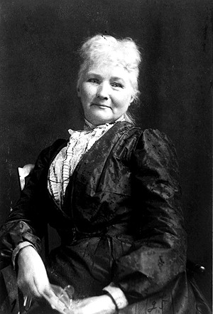Mother Jones was an organizer for the United Mine Workers union and the Knights of Labor. She chose to be buried in Mt. Olive to be close to miners who had been killed during labor disputes. - PHOTO COURTESY U.S. LIBRARY OF CONGRESS