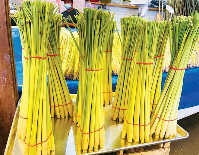 Lemongrass at an Asian market. - PHOTO BY PETER GLATZ