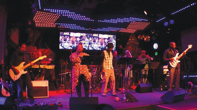 The Soul Experience Band hits this Friday night at Casey's Pub in the Knights of Columbus Hall on - Meadowbrook Road.