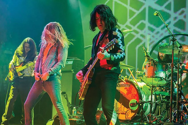 Led Zeppelin 2 takes the stage at Danenberger's Family Vineyards this Saturday night.