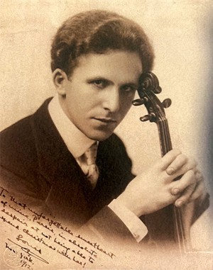 Have Violin, Will Travel: The Louis Persinger Story, by Raymond Bruzan, Sangamon Valley Writing Associates, 2021. - 212 pages, $24. Order at www.cottonviolinsandshots.com.
