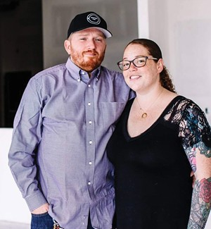 """Jordan and Aurora Coffey: """"I don't think I've ever met anyone in this industry who had health insurance."""""""