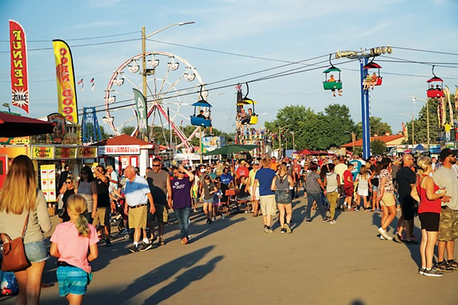 An estimated 509,000 people attended the 2019 fair, the highest attendance since 2014, and organizers are hoping for a similar turnout this year. - PHOTO BY LEE MILNER