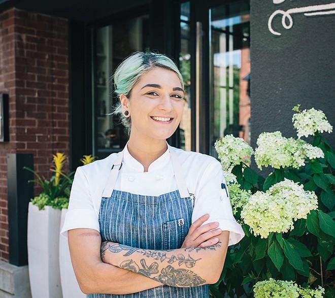 Executive Pastry Chef Alexandra Motz - CREDIT: LIBBY ANDERSON