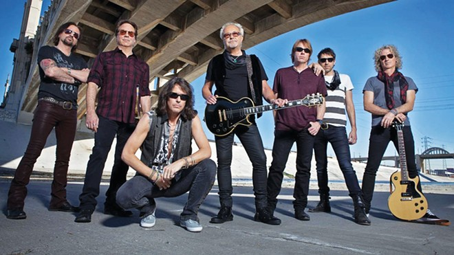 Foreigner performs at the UIS Performing Arts Center on Nov. 5.